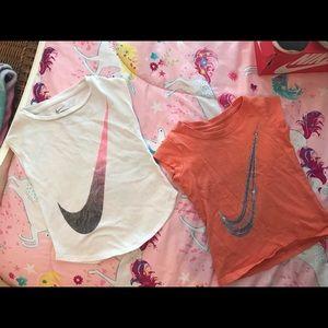 Nike toddler shirts (2)